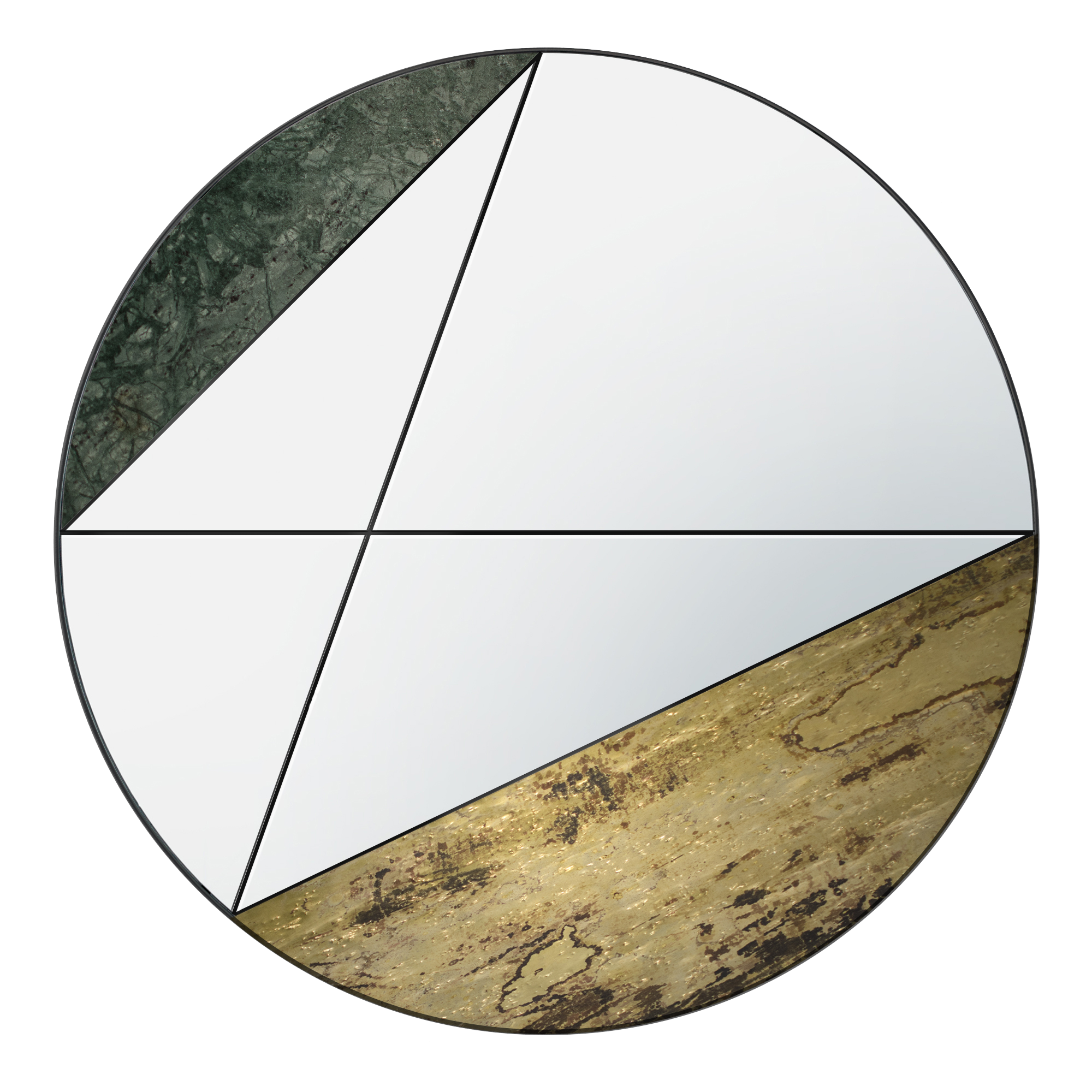 Atlas Project Clepsydra wall mirror